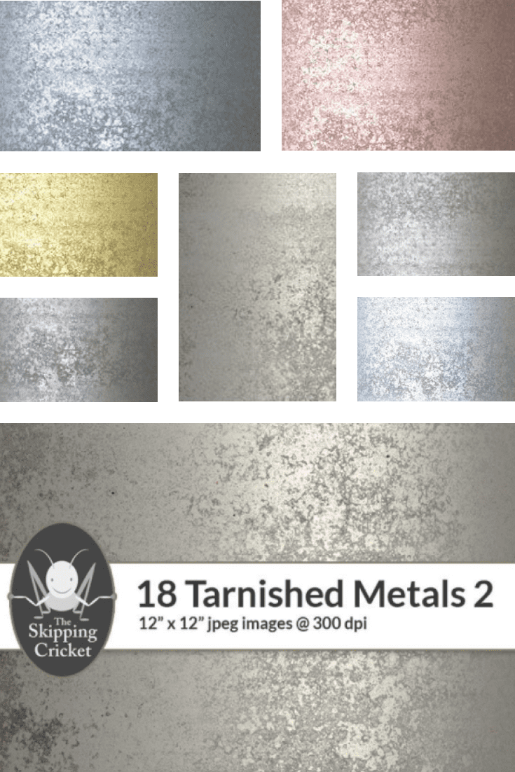 Rich texture with filings of silver and gold.