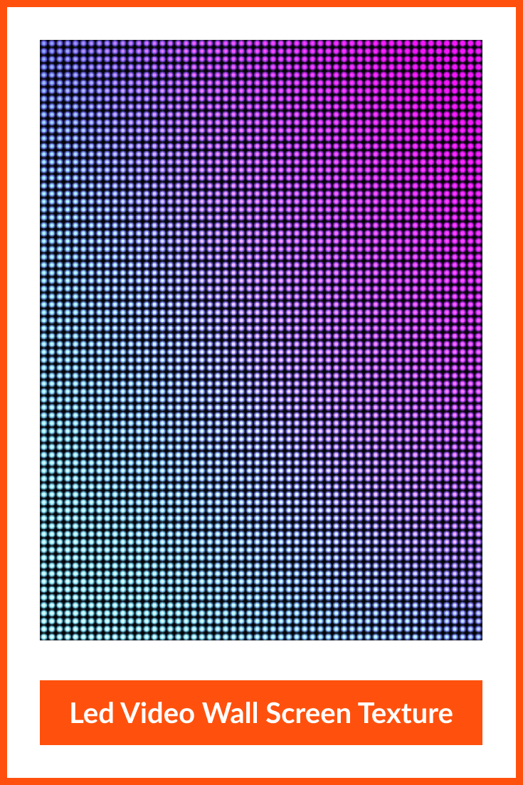 Led Video Wall Screen Texture.