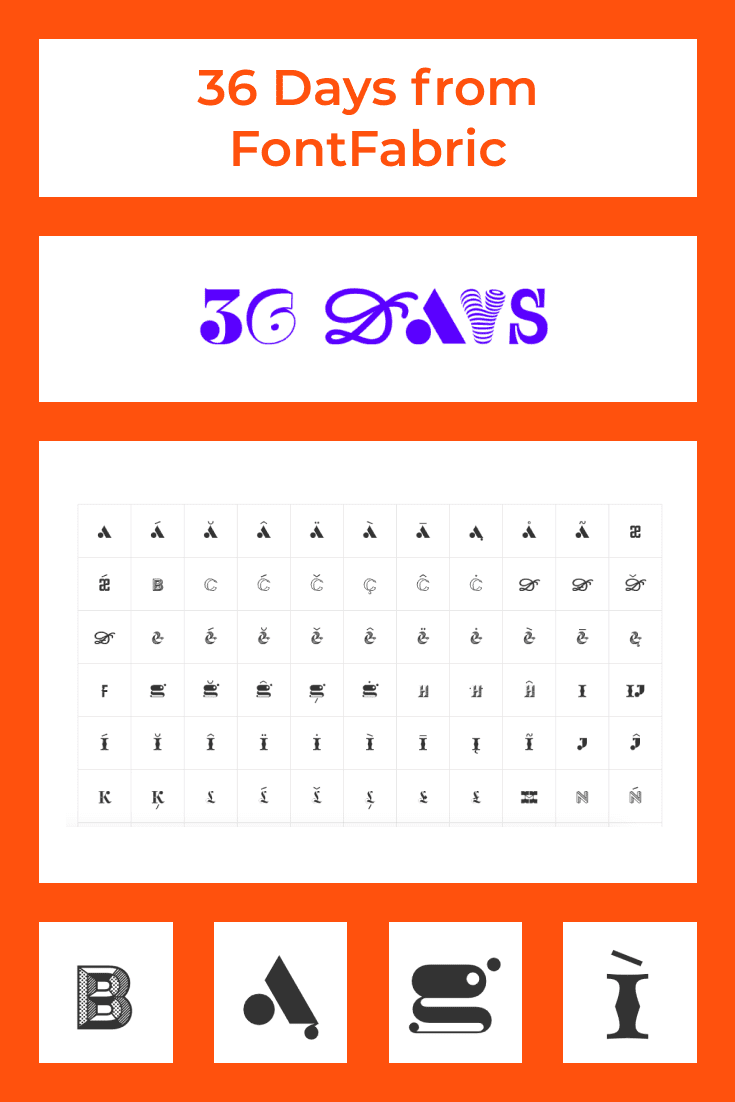 Here you will look at every letter, every curl and graphic.