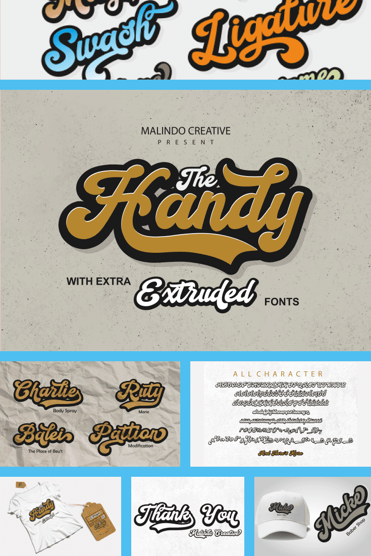 Sweet 90s with explosive gum and sizzling drinks .; This font is just perfect for this style.