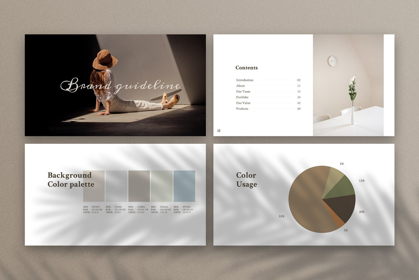 There are delicate and beautiful slides with infographics and quality photos.