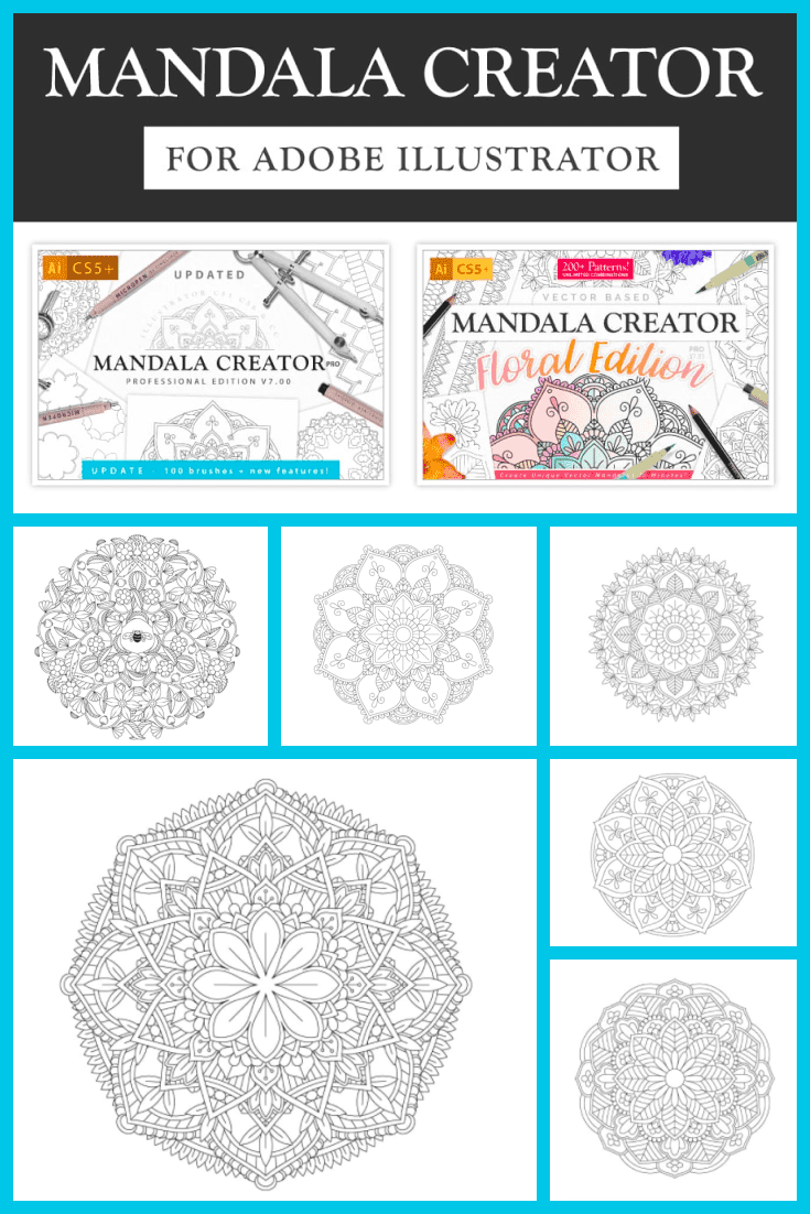 This is a mandala coloring for the attentive. There are many details here that require attention.
