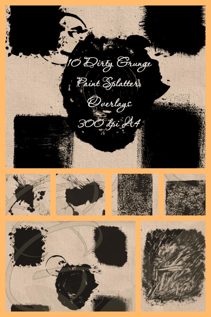 Dirty texture. When viewed in detail, it resembles a fingerprint.