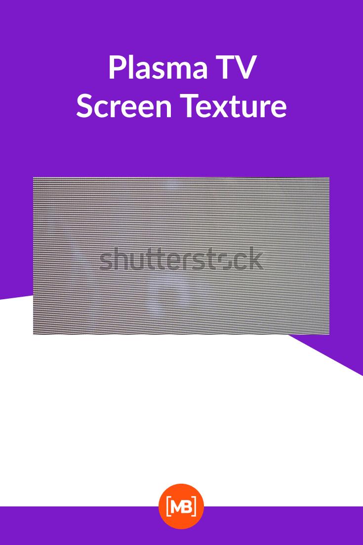 Plasma TV Screen Texture.