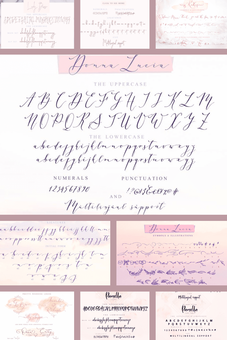Delicate and weightless. This font smells like macarons, cotton candy, and soda.