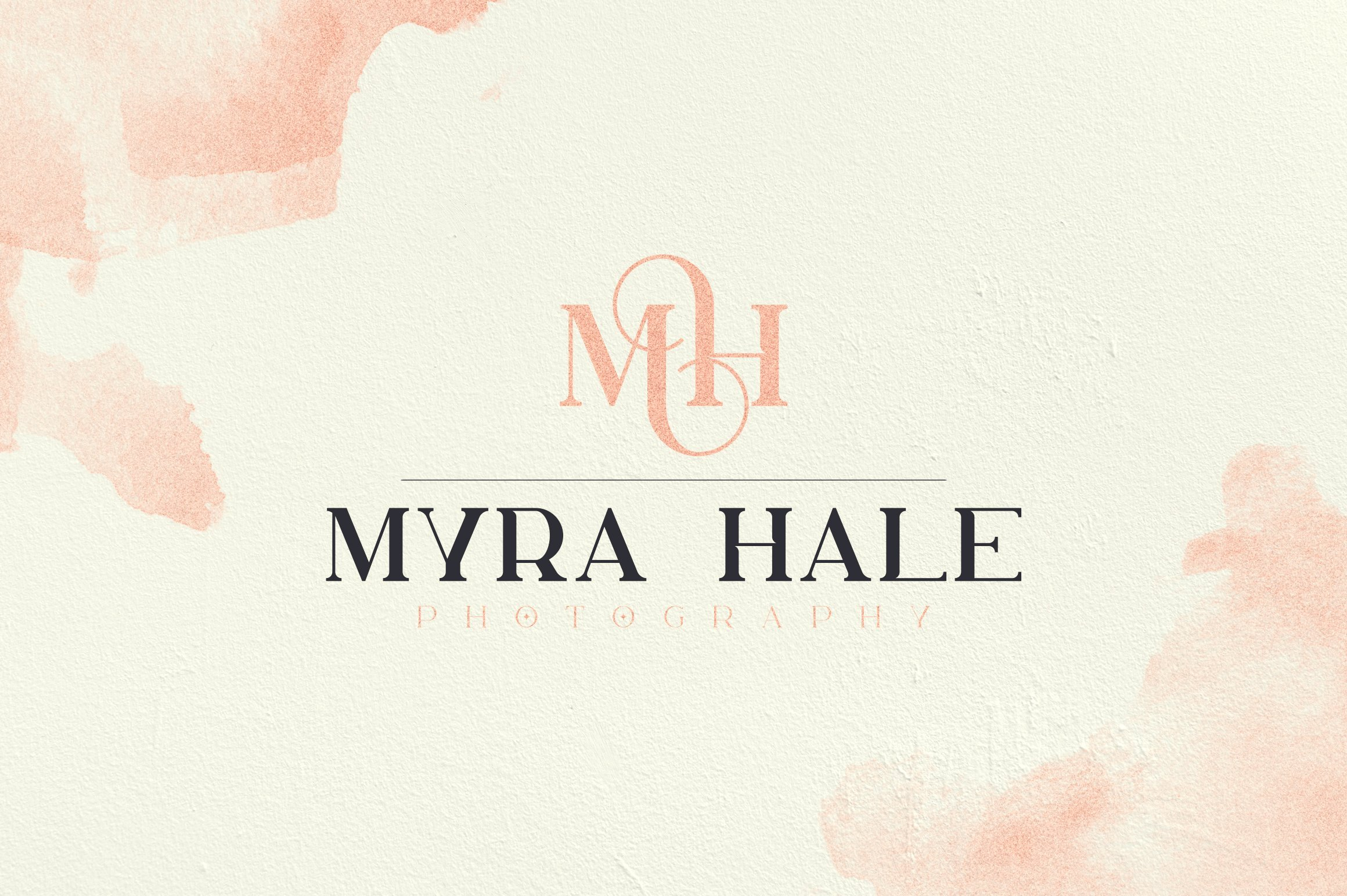 Eco-style background and simple font. Vintage Font Family.