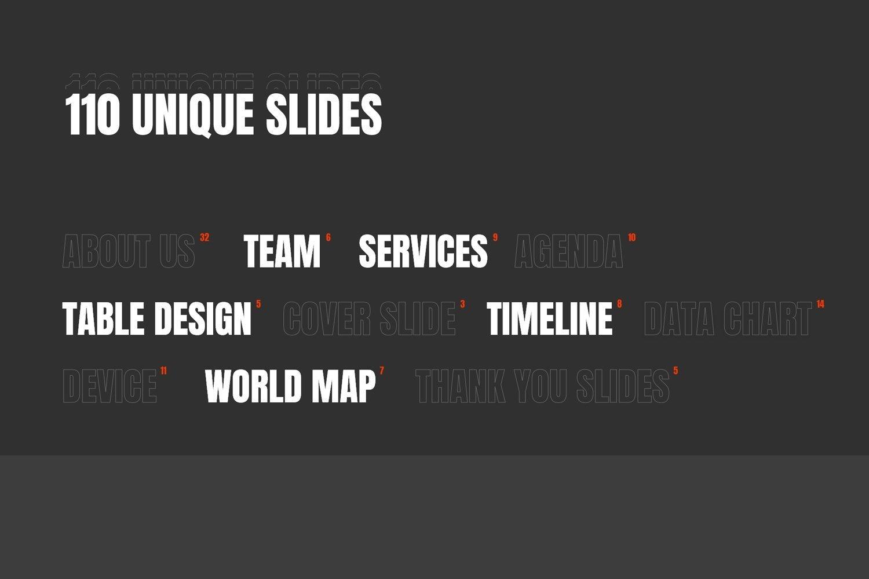 You will have unique designs.