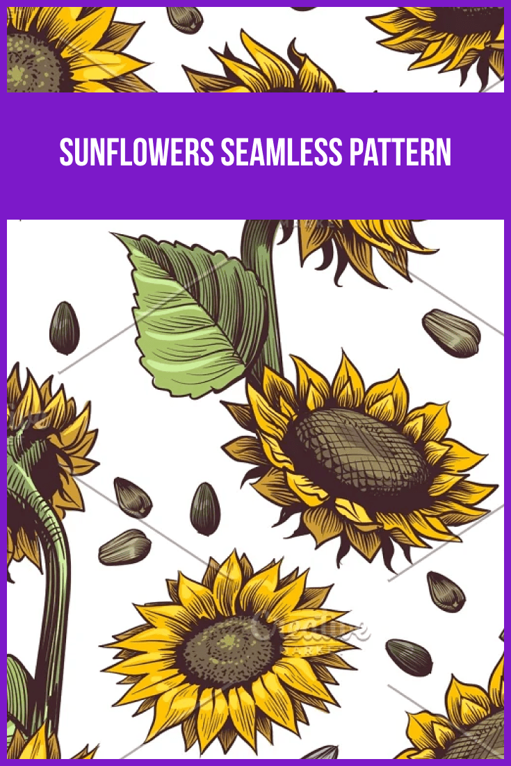 Very natural sunflowers.
