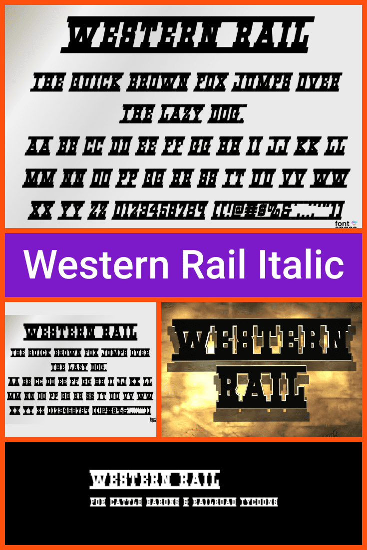 This font is crisp and smooth like rails. It is original and could be a good option for a teaser.