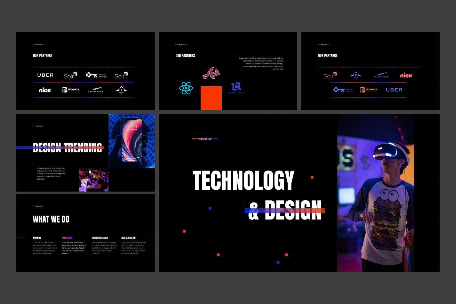 You can customize design in your way and add some unique to your presentation.