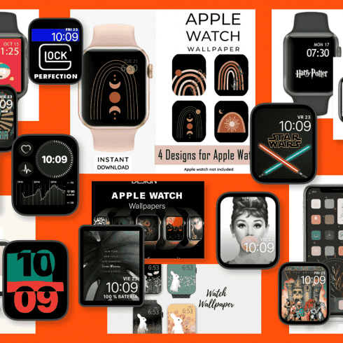 Apple Watch Fall Face Example.