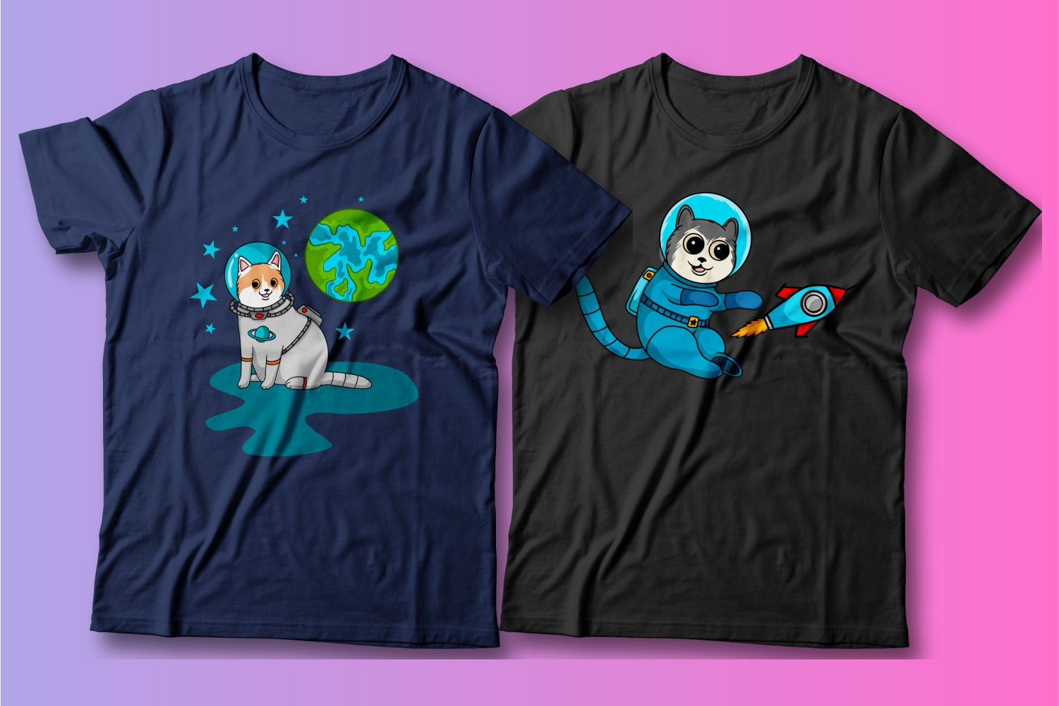 For these kittens, rockets and cosmonaut costumes are just entertainment.