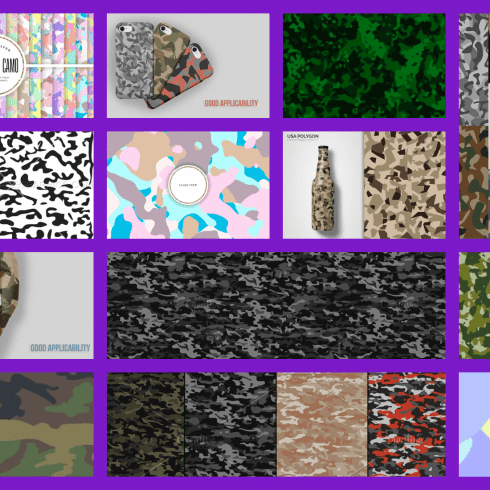Best 15 Camo Patterns in 2021 Free and Premium Example.
