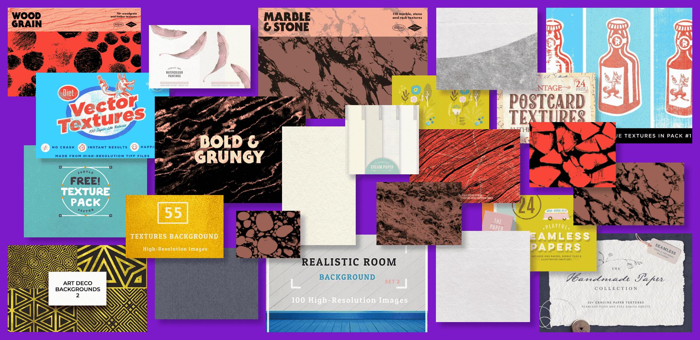 Best Illustrator Textures in 2021 Example.