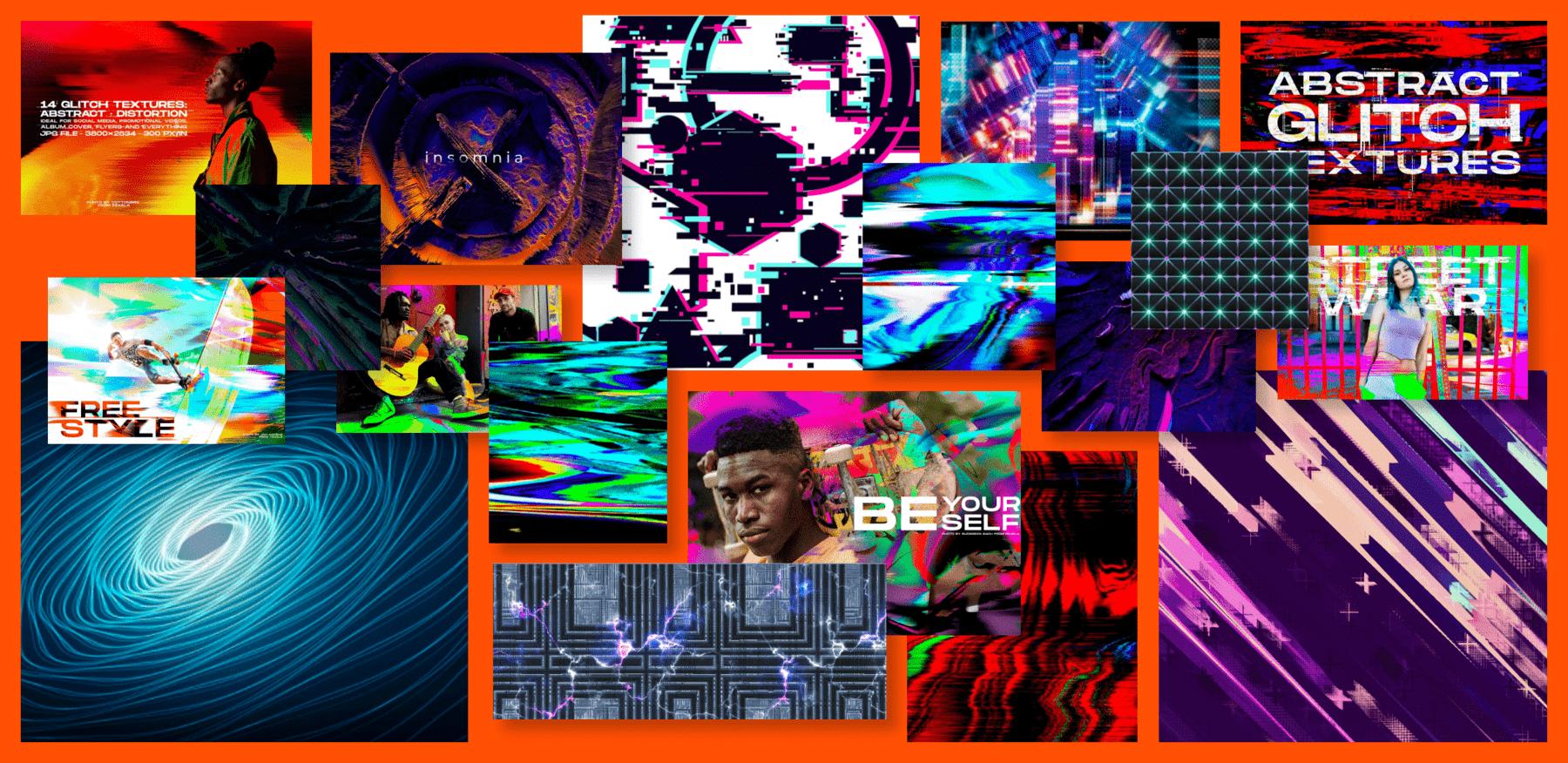 Cyberpunk Textures Example.