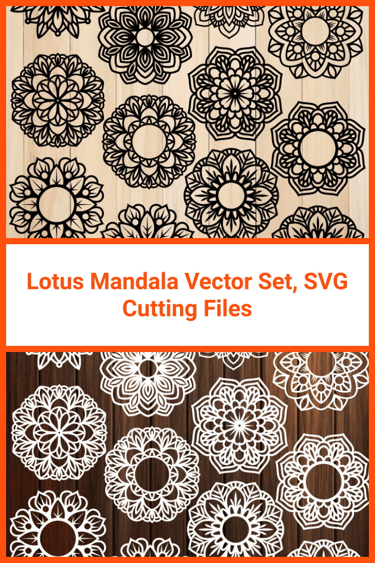 Classic performance of a small mandala in black and white.