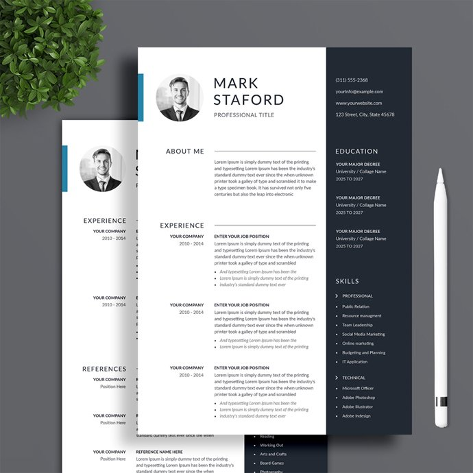 Professional Resume Template.