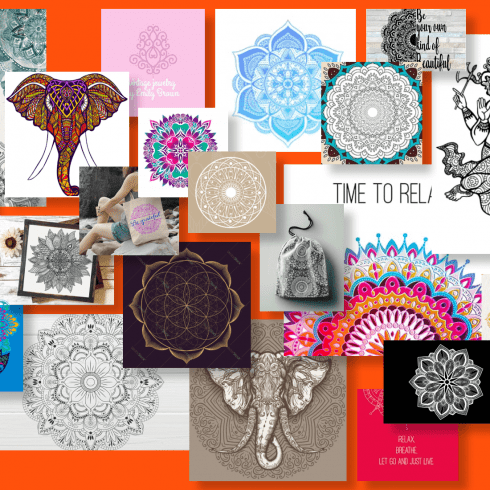 Mandala Designs 2021 Example.