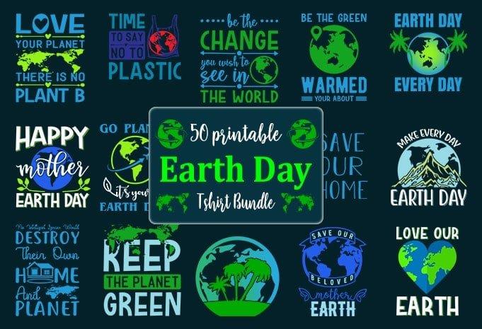 Earth day designs bundle.