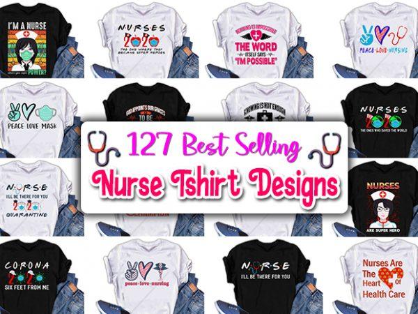 Best selling nurse t-shirts design.