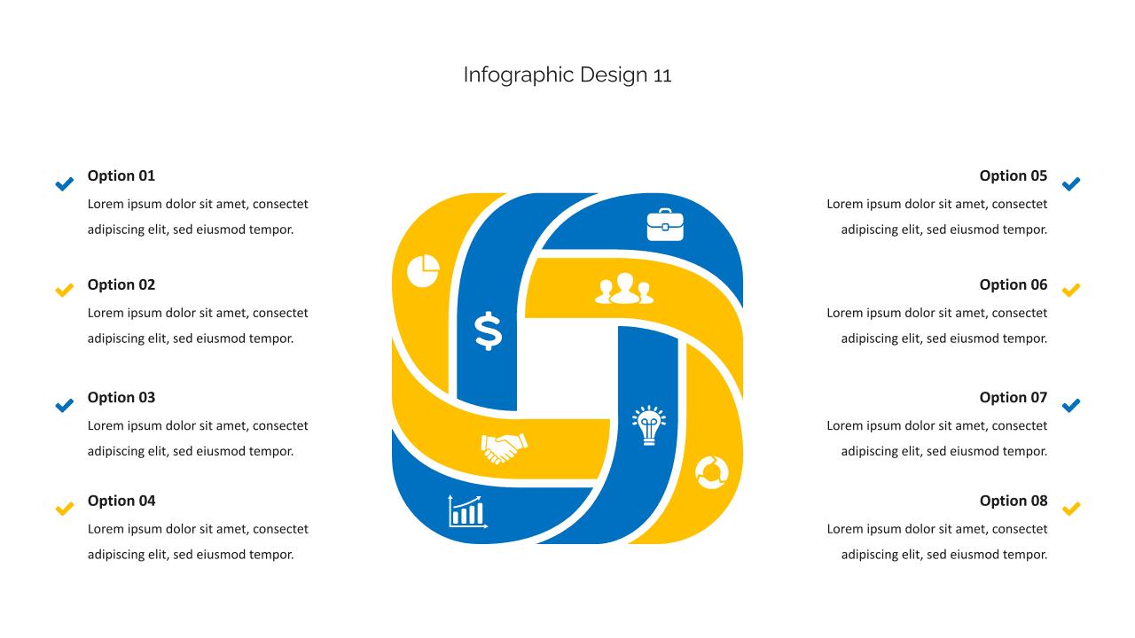 Infographics are like an italian pasta.