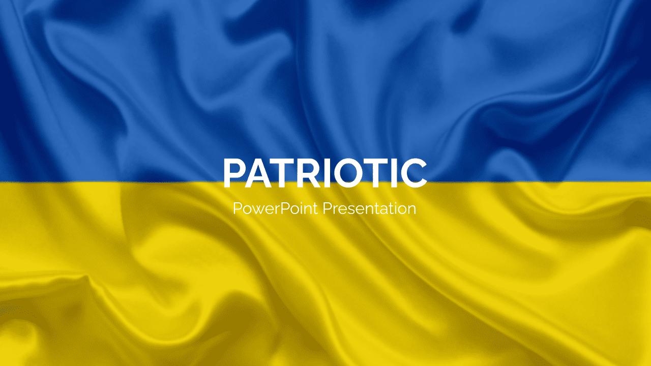 Ukraine Presentation Example.
