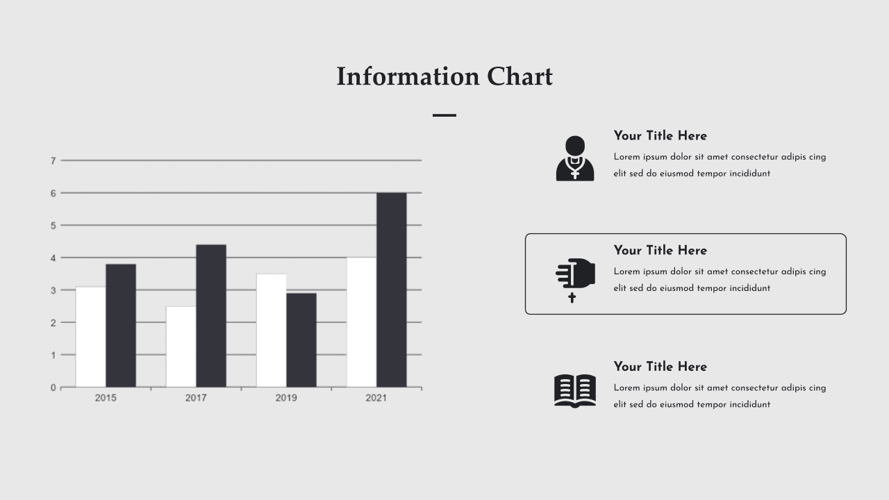 In this slide, you can display growth statistics.