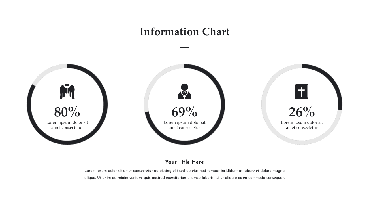 This slide is about infographics.