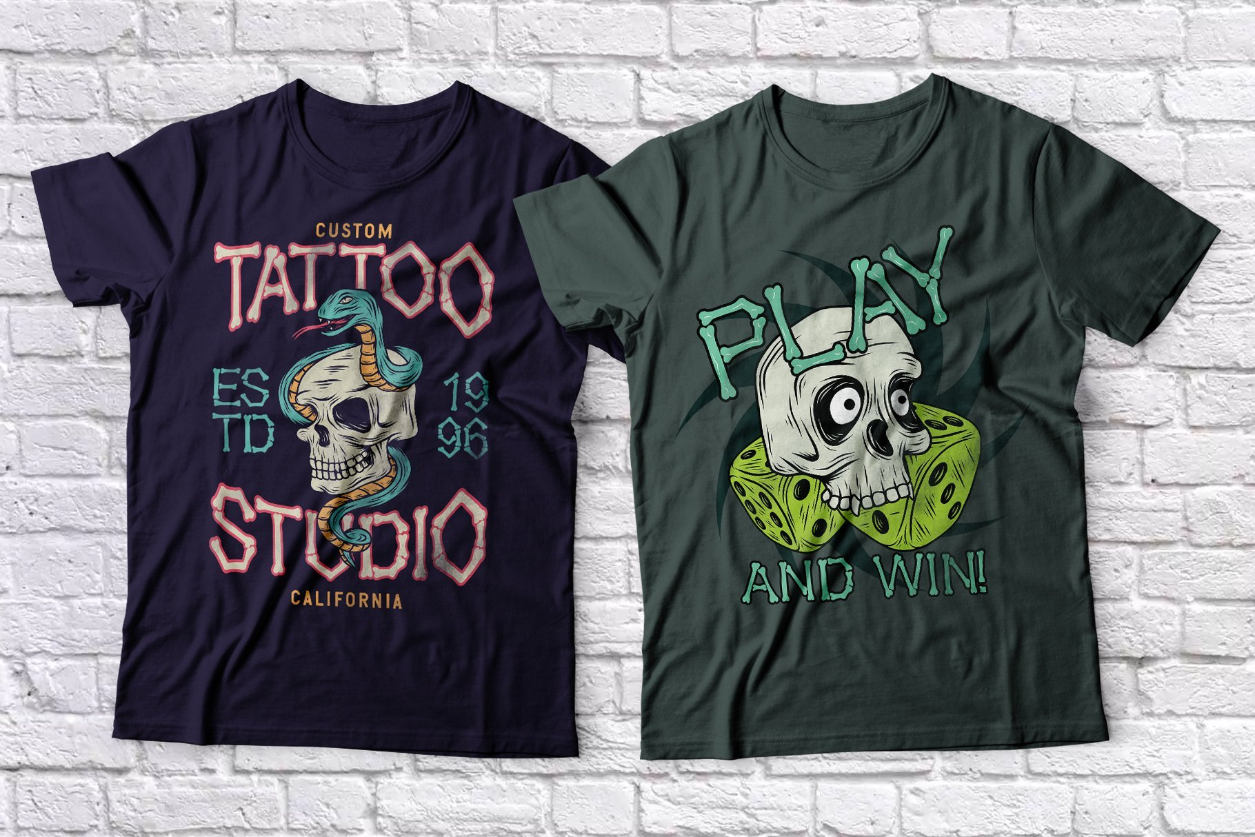 Funny and themed t-shirts.