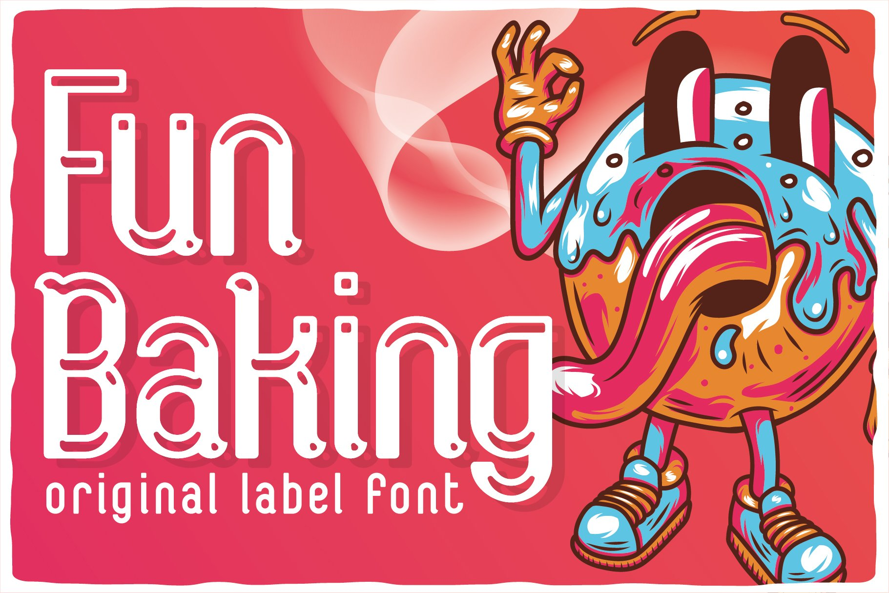 Funbaking original label font.