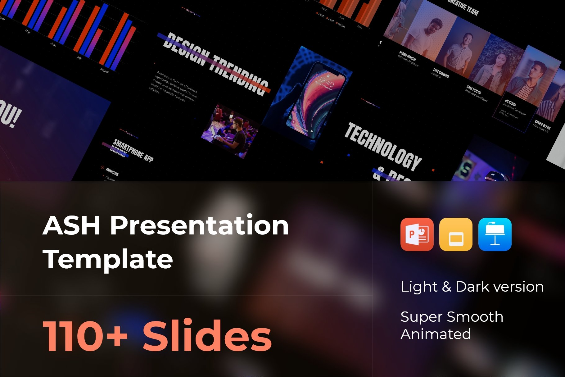 Ash - Smooth Animated Presentation.