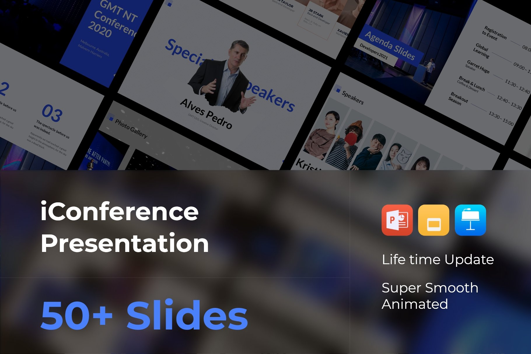iConference - Animated Template.