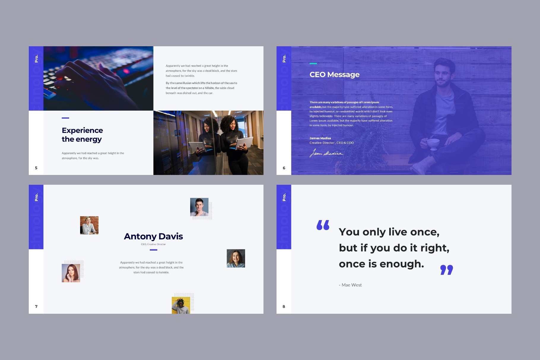 Text blocks and quotes part.