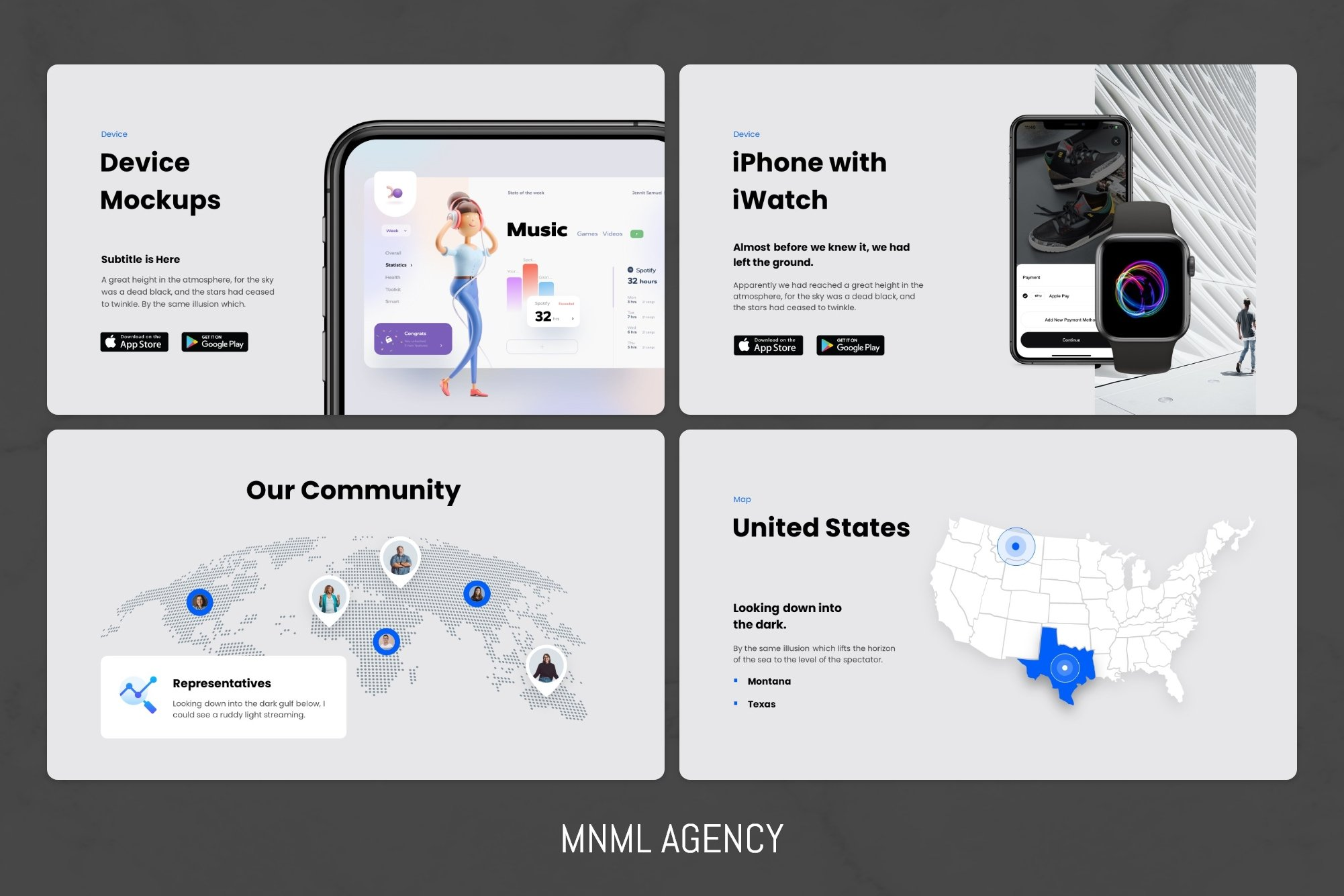 This slide shows design flexibility and responsiveness.