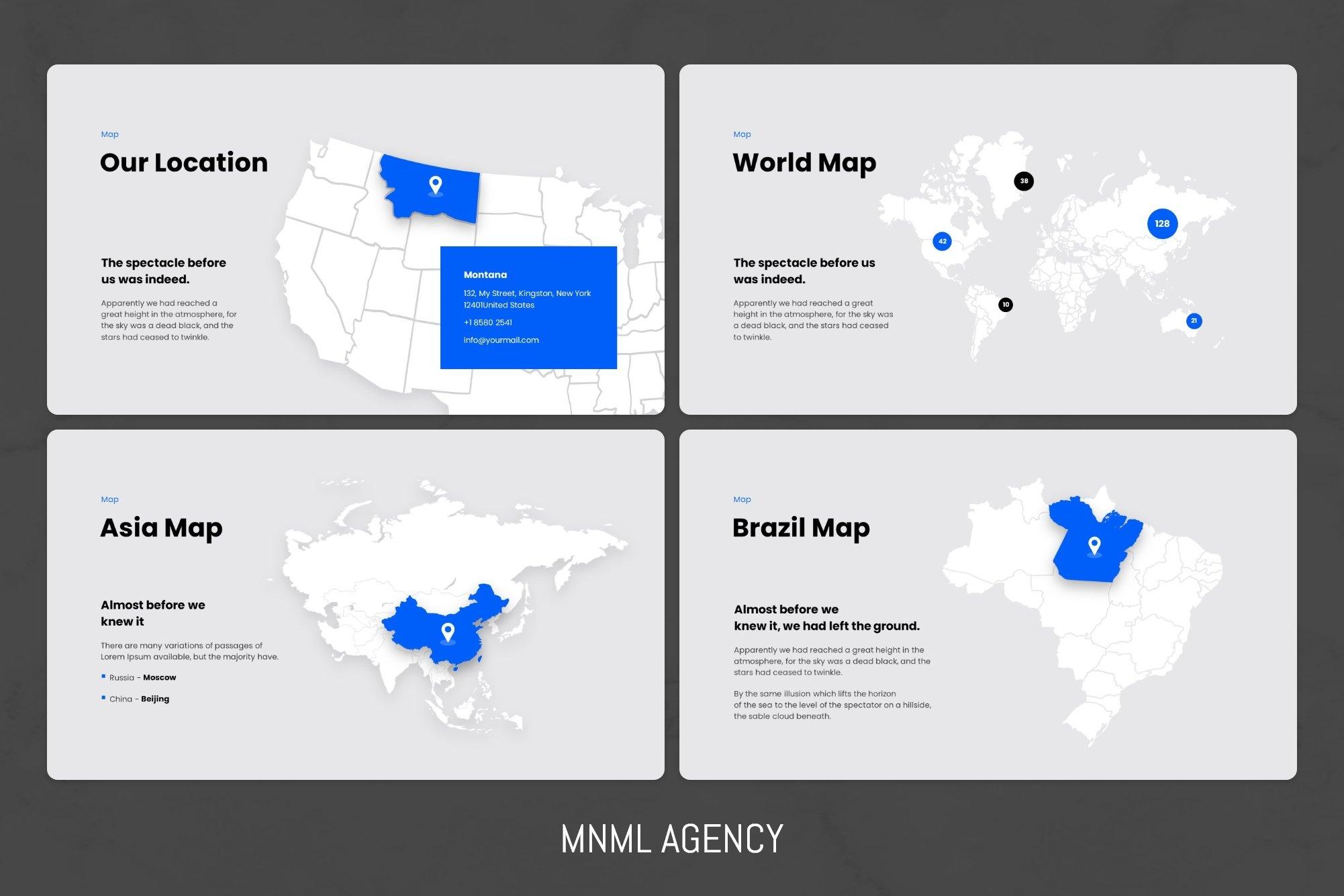 World's map.