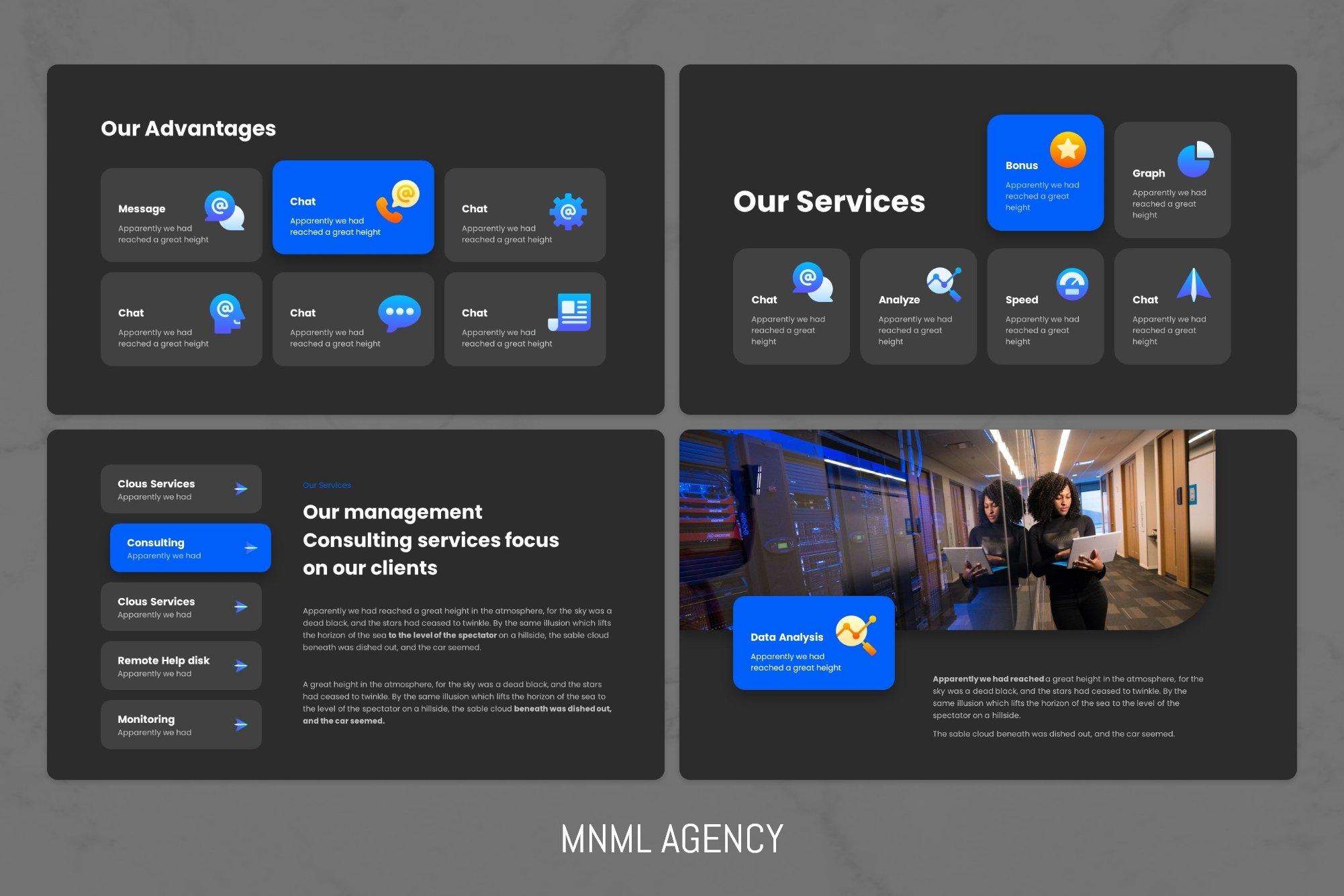 Benefits of a dark design project.