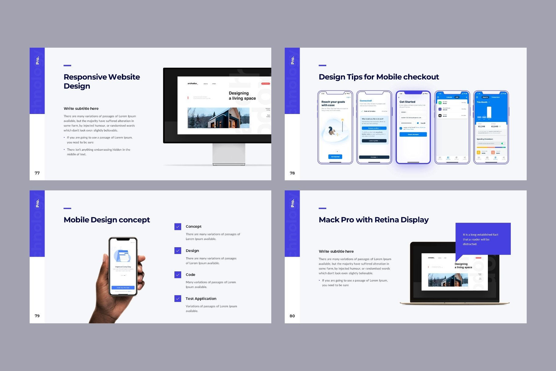 This design is responsive and flexibility.