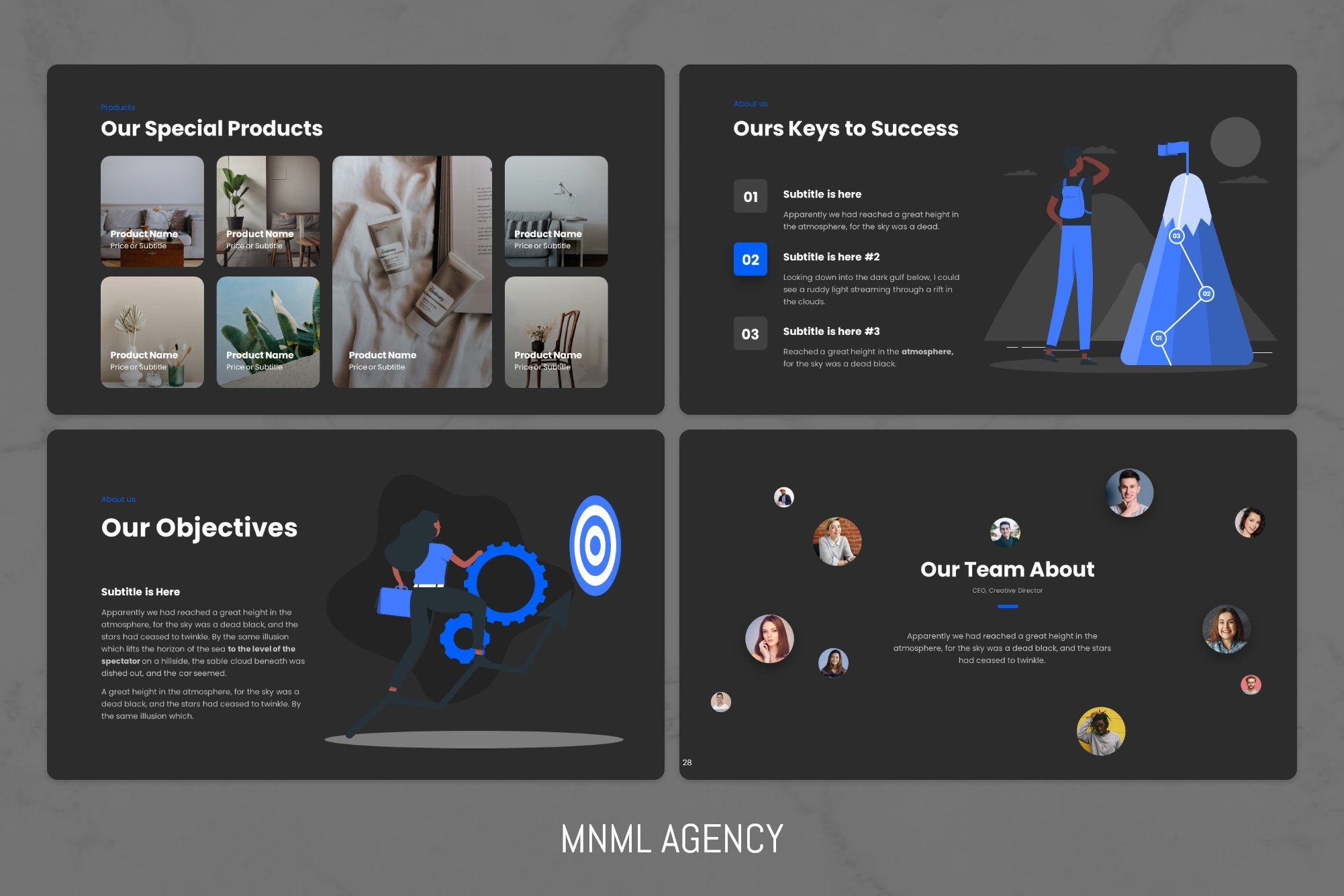 Dark theme with blue graphics.