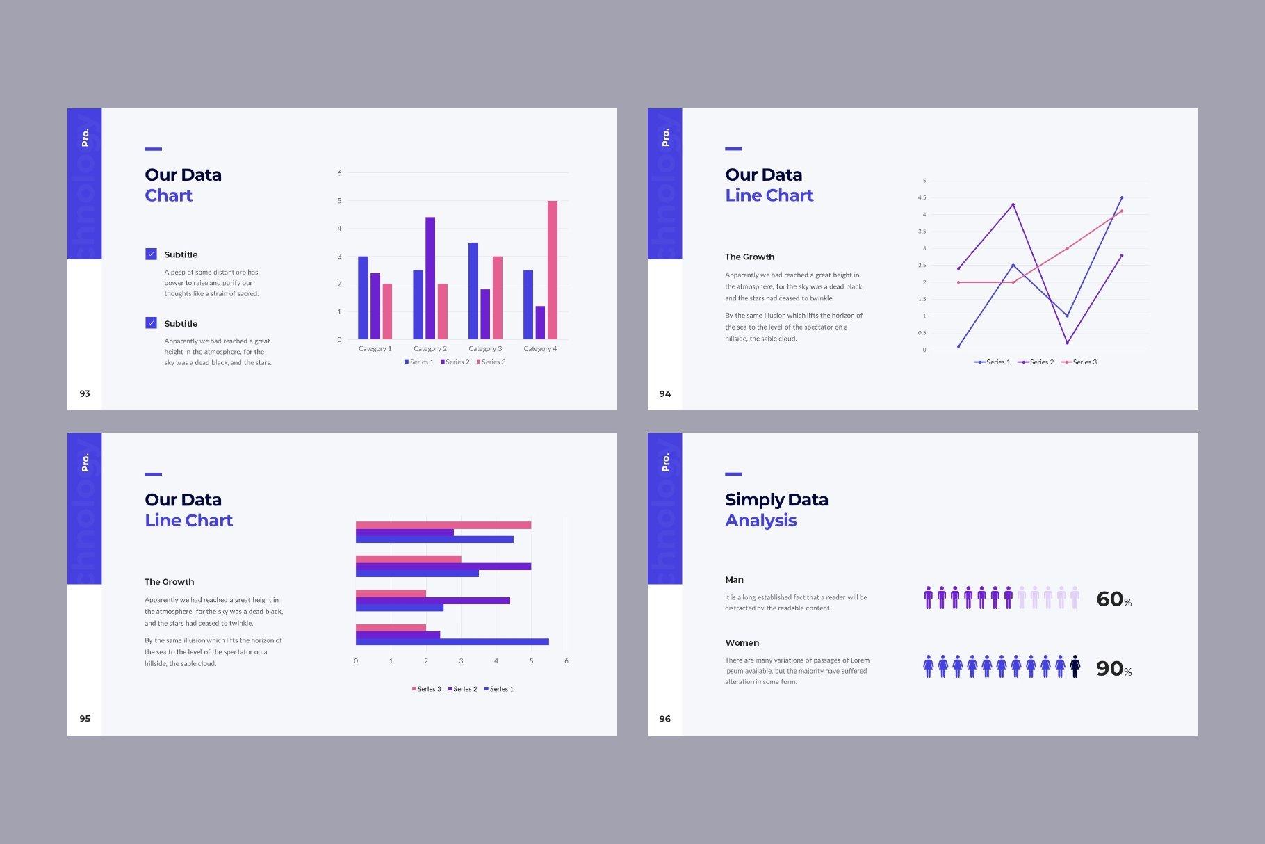 Stylish and modern infographics.