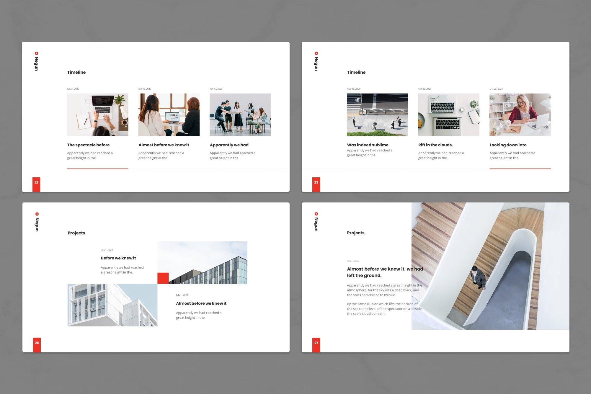 Space for your portfolio.