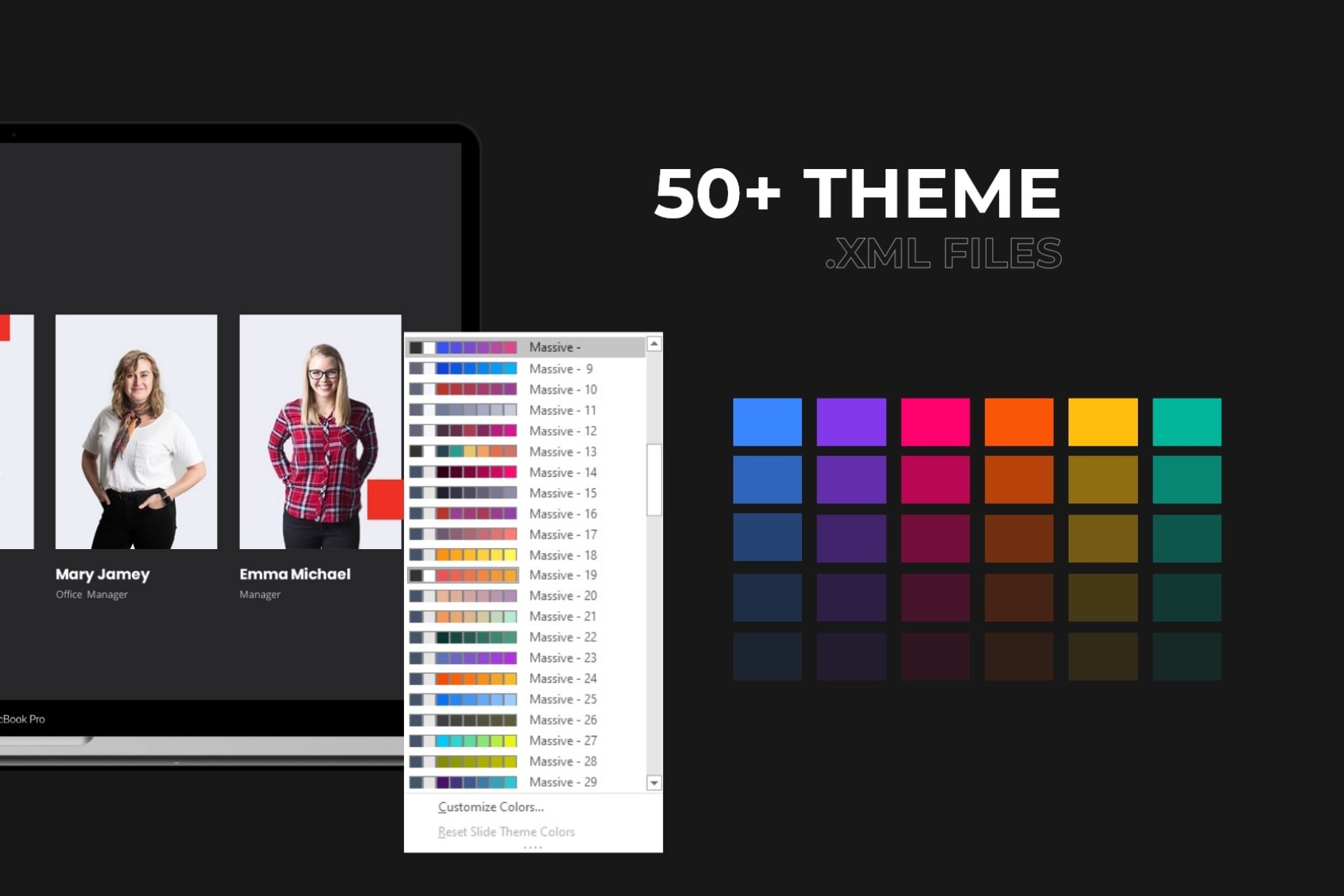 Color for your presentation.
