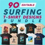 surfing t-shirts cover image.