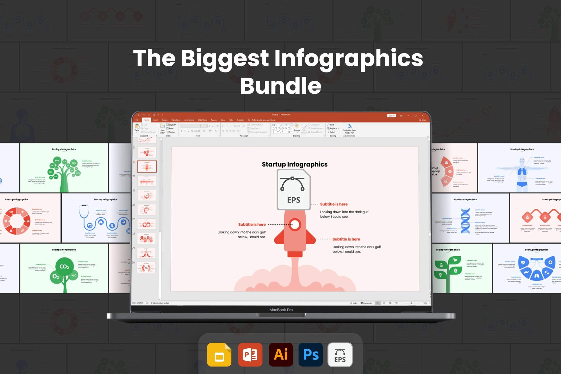 The biggest infographic bundle.