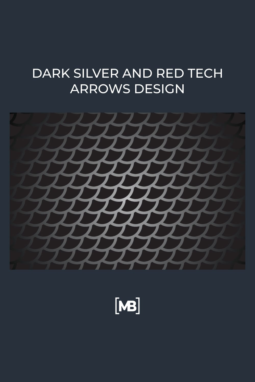Dark with silver dragon scale.