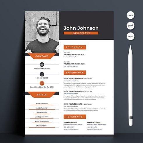 Creative Resume Template.