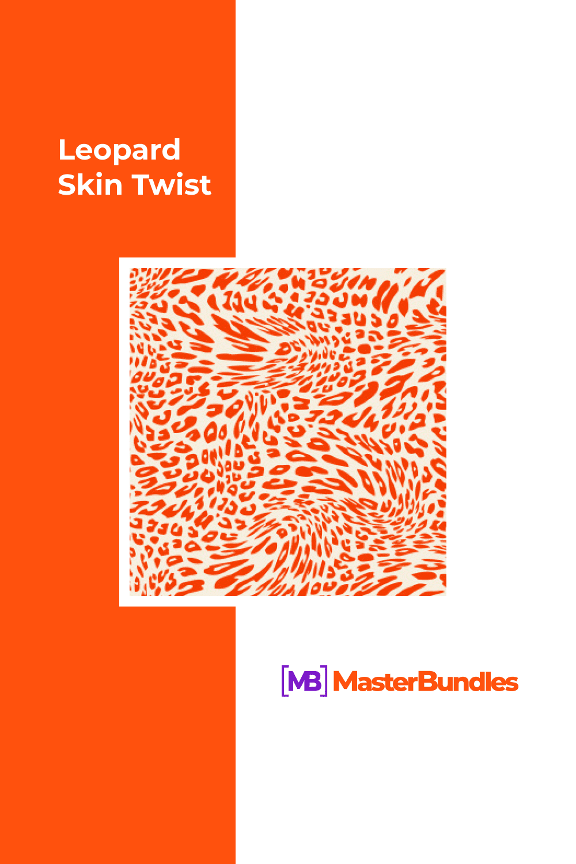 Leopard skin twist.