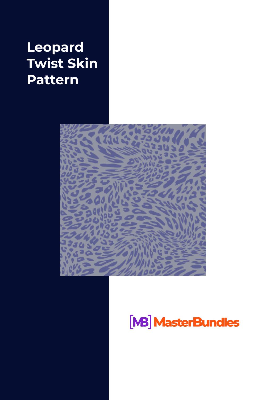 Leopard Twist Skin Pattern.