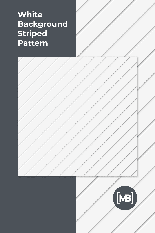 White background striped pattern.