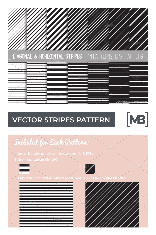 Vector stripes pattern.