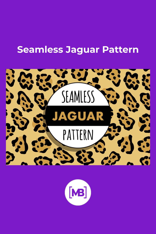 Seamless Jaguar Pattern.
